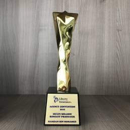 About Liberty Insurance Agency Malaysia Award
